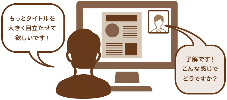 web会議、zoom会議、オンライン会議での会議はご相談ください