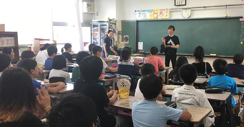 小学校で講演・ワークショップ3