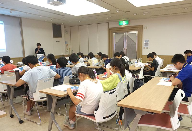 小学生・中学生 ワークショップ3